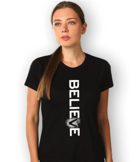 BELIEVE T-SHIRTS FOR GIRLS