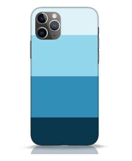 Blue Stripes iPhone 11 Pro Mobile Cover