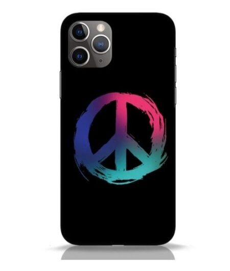 Peace iPhone 11 Pro Mobile Cover