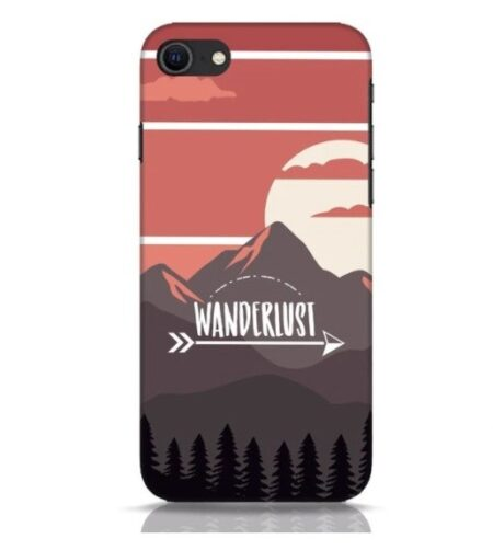Wanderlust Mountains iPhone SE 2020 Mobile Cover